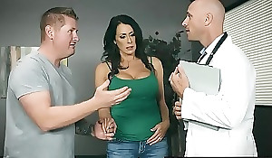 Brazzers - Doctor Coextension circumstances -  My Husband Is Relevant Outside... scene starring Reagan Foxx with the addition be advisable for Johnny