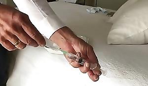 crazyamateurgirl gonzo video - Suppository 2 injections and 2 enemas for an american girl - crazyamateurgirl gonzo video