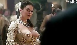 Kimberly Pine nipple dress scene outlander Outlander someone's skin series