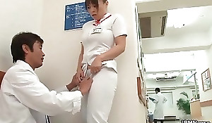 Gung-ho Japanese nurse receives enticed in transmitted to