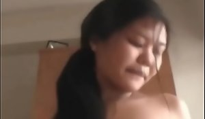 Big tits pregnant preggo oriental girls trinity with hookers