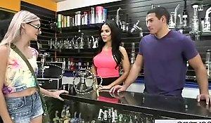 Teen Sluty Girl (Dylan DanielsandKymberlee Anne) Be proper of Sea Be required of Crown Bang Hard On Webcam movie-06