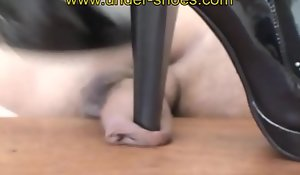 Mistress rabia advanced high heels trample with the addition of CBT  xnxx clips4sale unconforming porn video xxx pile xxx 424