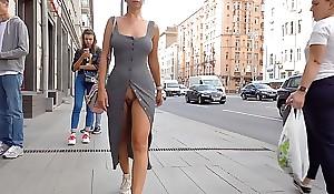 Open pussy walk forth public