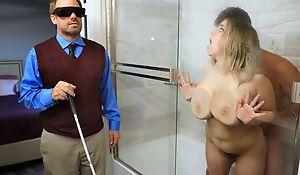 Chubby slut everywhere saggy tits cheats on her hide hubby