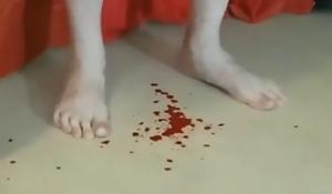 Fuzz ball poppet Red Devil Today Castration Girlfriend hard by Italian Female