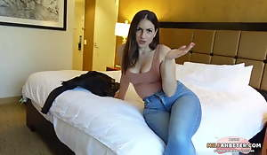 Horny Stepmom On Vacation Hither Her Laddie