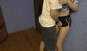 Provoked my stepbrother to fuck me!