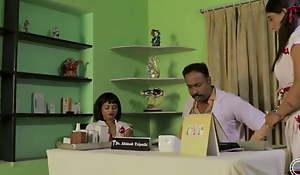Telugu pavitra eraparaju – hot sex involving sickbay with doctor