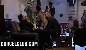 Nikita with the addition of Alexa enjoy anal sex with strangers