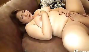 長澤ま●み似爆乳パイズリ×_フェラチオ!